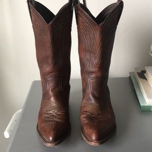 Frye Billy Pull On Cowboy Boots